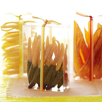 Homemade gifts from your kitchen....Candied Citrus Peels - Gifts from the Kitchen - Sunset