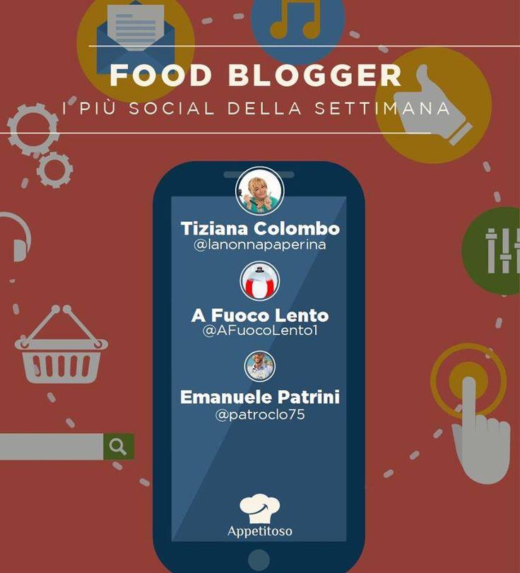 come ogni lunedì arriva la classifica dei food blogger più twittati. Vince @lanonnapaperina seguita da @afuocolento. Al terzo posto @patroclo75.
