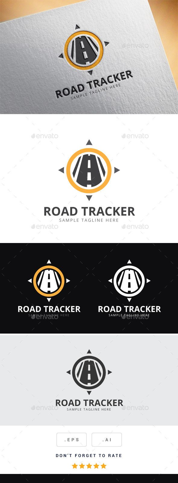 Road Tracker Logo | Logo Design | Pinterest | Transporte ... Y Logo