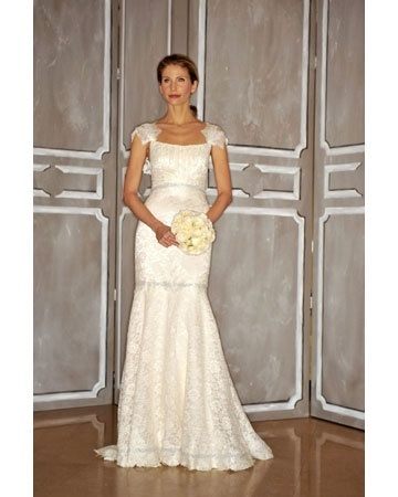 Fabulous lace wedding dresses with cap sleeves