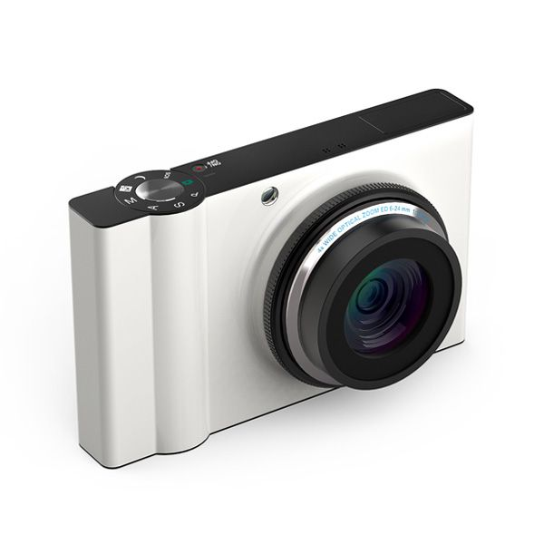 Minimal design in black and white: simple camera | mobility tools & lifestyle gadgets | Design: Charlie Nghiem |