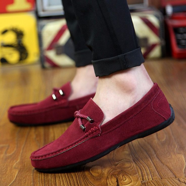 Red Monkey Surround Breathable Fashion Sneakers Running Shoes Slip-On Loafers Classic Shoes