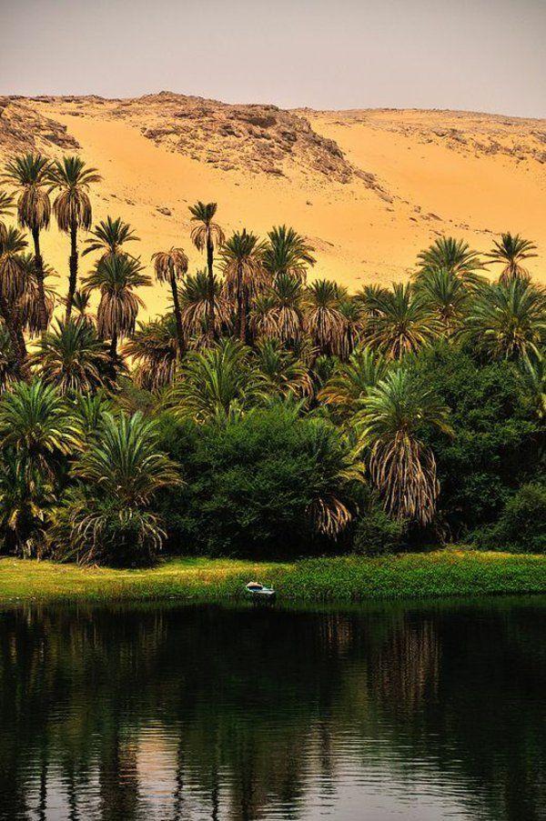 Reise nach Ägypten urlaub fluss nil sand