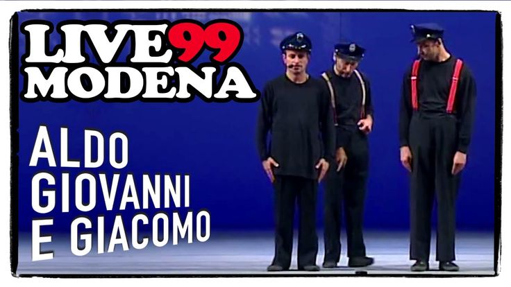 I Poliziotti - Live a Modena, 1999 | Aldo Giovanni e Giacomo