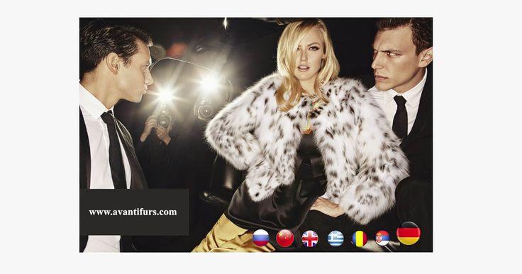 AVANTI FURS website now fully translated in German language.