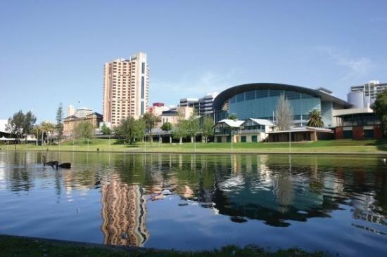 Beautiful shot of the riverbank
