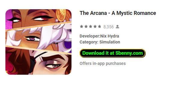 The Arcana - A Mystic Romance Unlimited Coins MOD APK   The