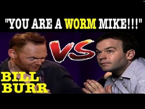Bill Burr Against Mike Birbiglia (EDITED) Cellar Crowd