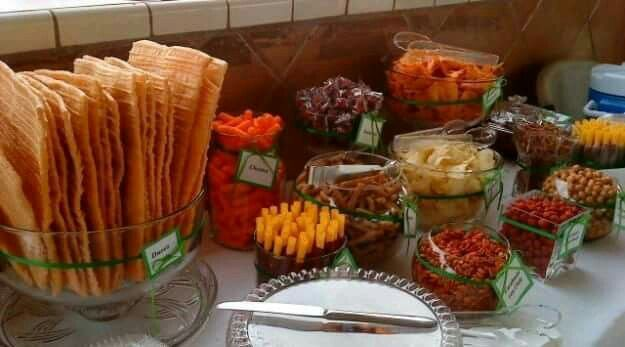 Best 25 mexican candy table ideas on pinterest mexican - Table snack bar but ...