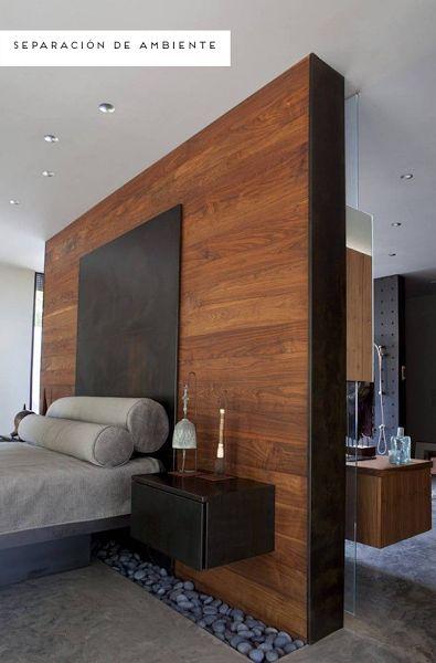 Inspiración: Paredes de madera   Decorar tu casa es facilisimo.com