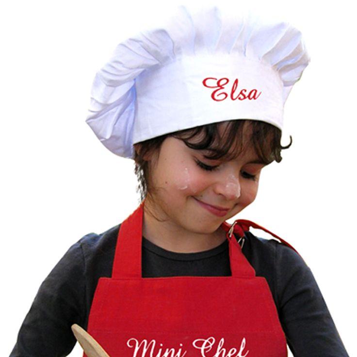 Personalisierte Kochmütze mit Stick