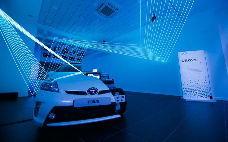 L'Hybrid Space è il luogo in cui la tecnologia ibrida incontra le persone. Uno spazio completamente multimediale e interattivo.
