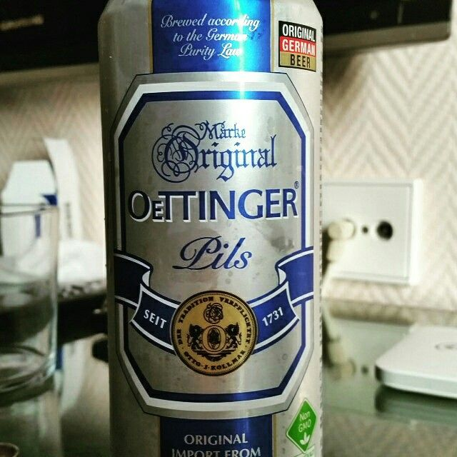 Oettinger Pils by Oettinger Brauerei #untappd