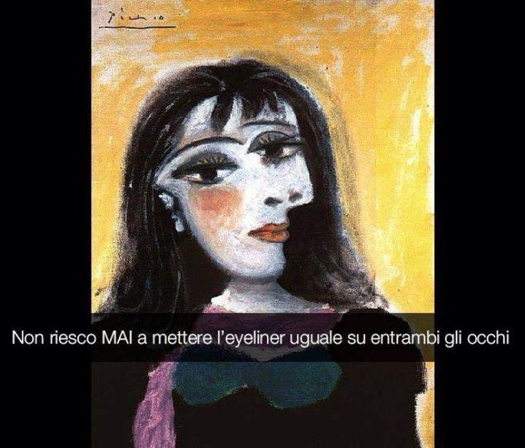 Se i quadri potessero parlare Ritratto di Dora Maar - Picasso