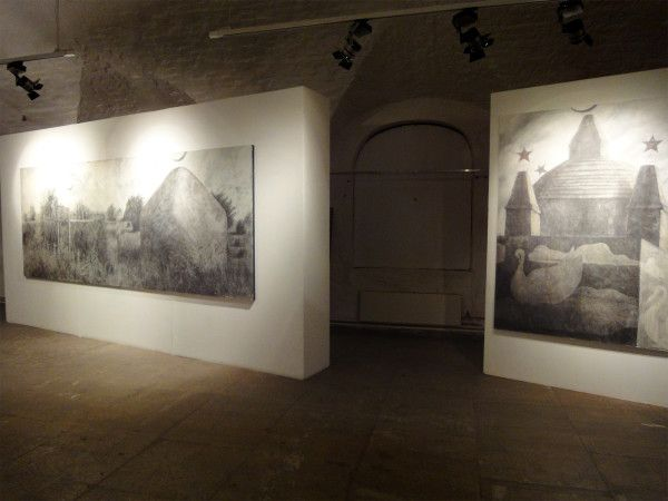 «Голубятни и мавзолеи». МУАР совместно с Якут-Галереей. Москва, 2010 г.
