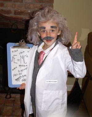 Albert Einstein Monroe Kostüm selber machen | Kostüm Idee zu Karneval, Halloween & Fasching