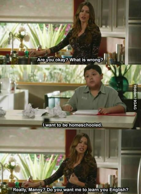 Teach gloria teach! Hahahahah Modern Family season 3