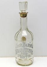 JACK DANIELS GOLD MEDAL OLD NO. 7 BOTTLE! RARE! Empty