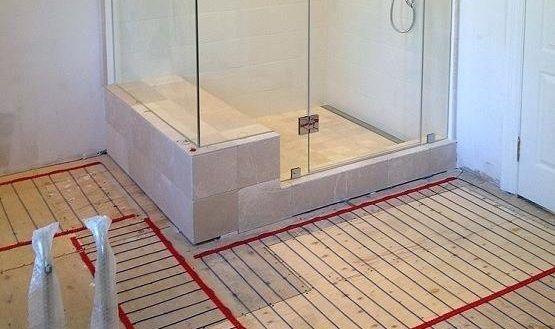 Image Result For Radiant Heat Bathroom Heated Bathroom Floor Bathroom Flooring Stylish Bathroom