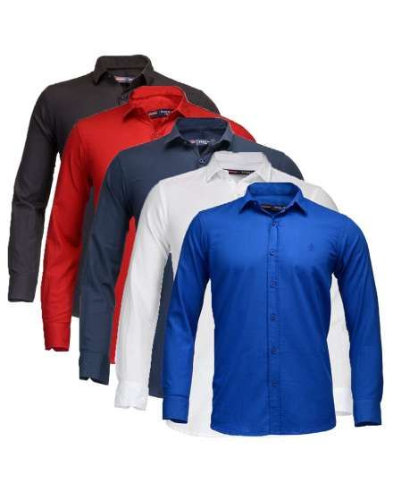 Buy Feed Up Combo of 5 Men's Shirts online shopping India | Men's Shirts | best price 2099.00