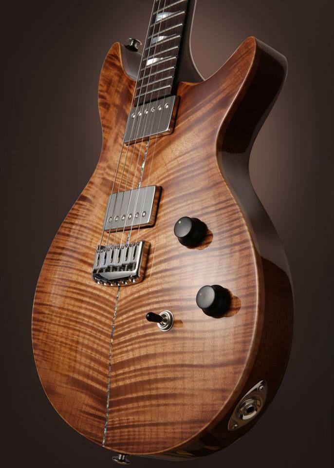 Case Guitars J1 Double cut www.caseguitars.co.uk