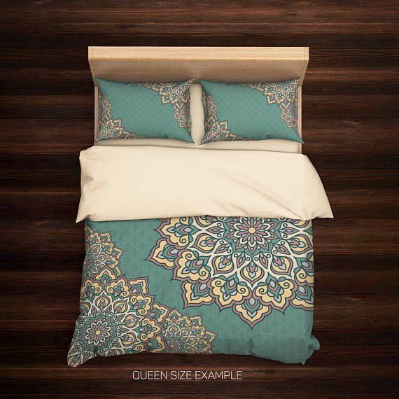 Bohemian Bedding,Boho Duvet Cover,Hippie Bedding,Mandala Bedding Set,Mandala Duvet Cover,Indie Bedding,Mandala Bedding,Boho Bedding