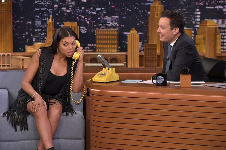 Pin for Later: See Taraji P. Henson Shimmy For Jimmy in Her Perfect Fringe Outfit
