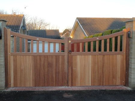 Best 25+ Driveway Gate Ideas On Pinterest   Gate Ideas, Wood Fence Gates  And Front Gates