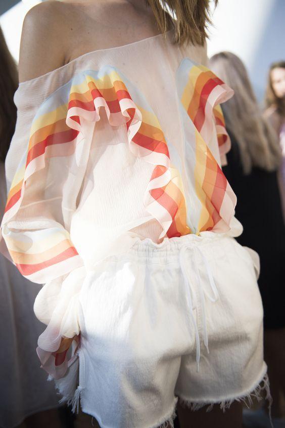 Chloé Spring 2016 Ready-to-Wear Fashion Show Beauty: