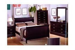 3 PC Full bed Headboard, Footboard, Rail/Louis_Mary $481.79