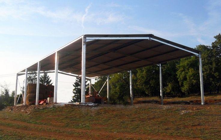 Bâtiment agricole en kit à charpente métallique !  http://www.batimentsmoinschers.com/