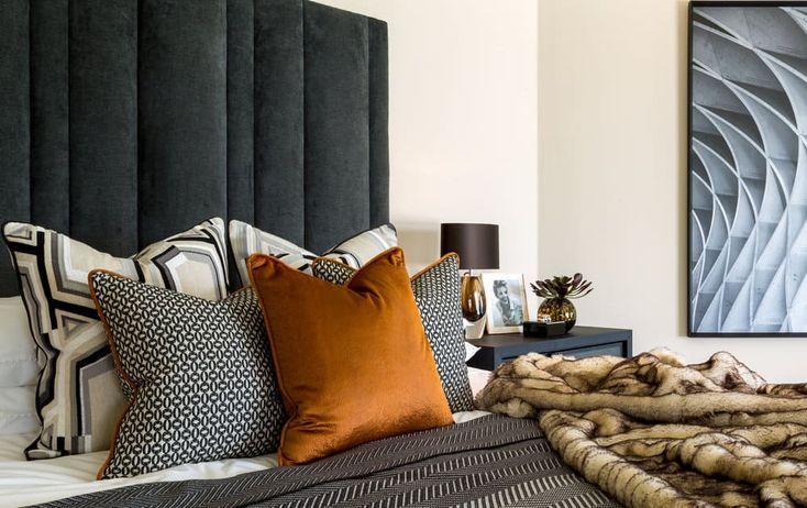 Autumn Interior Design Trends 2017 Plush Patterned Fabrics