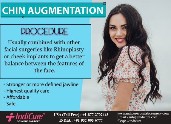 Chin augmentation through chin implants is a popular surgery which enhances the facial features. Chin implant surgery is quite popular among westerners as the plastic surgery cost in India for face is much less than Europe and United States.