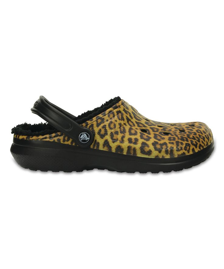 Take a look at this Black & Espresso Classic Lined Graphic Clog - Unisex today!