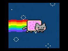 Nyan Cat (Pop Tart Cat) meme ~ my kids love this