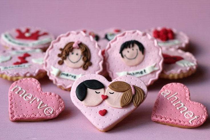 kissing cookies :) butik kurabiye