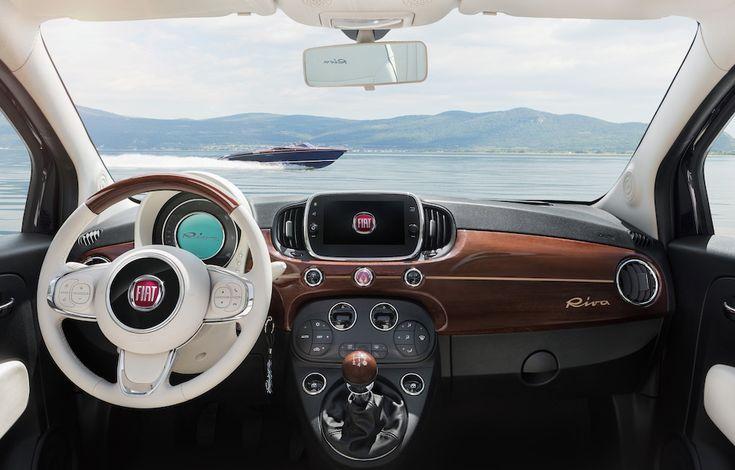 Fiat 500 - Riva edition