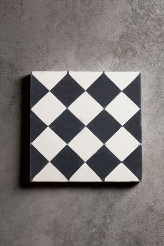 Handmade Concrete Tiles - Black