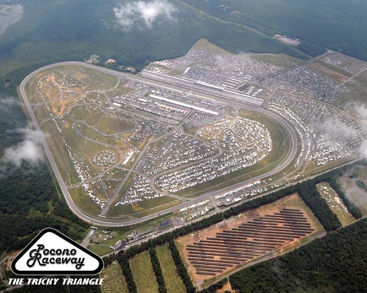 Pocono Raceway Pocono Pennsylvania Sporting Venues I
