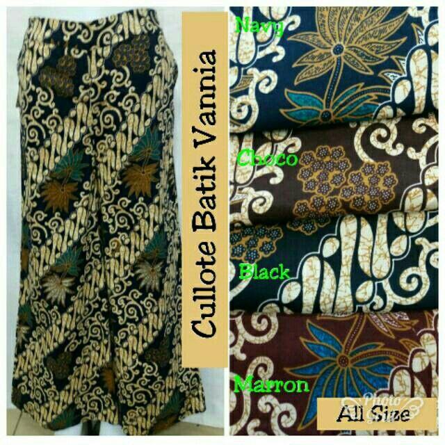 Saya menjual Cullote Batik Vannia seharga Rp60.000. Dapatkan produk ini hanya di Shopee! https://shopee.co.id/hamzahnisa21/692993187 #ShopeeID