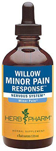 Herb Pharm Willow Minor Pain Response Herbal Formula  4 Ounce https://teaforweightlossusa.info/herb-pharm-willow-minor-pain-response-herbal-formula-4-ounce/