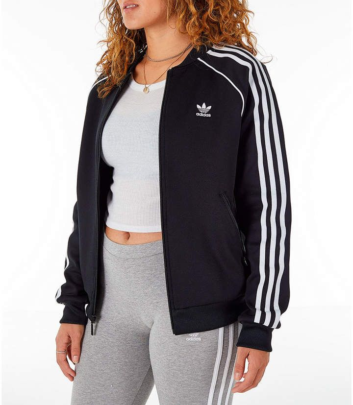 adidas Women's Superstar Track Jacket | Jacket outfit women