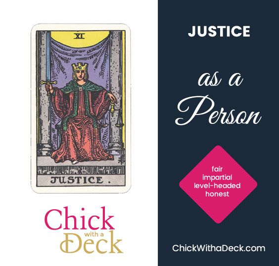 Justice as a Person