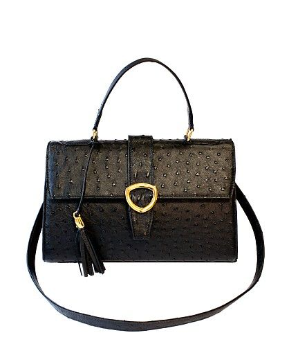 Principessa featuring on www.invertededge.com in Singapore. Purchase it online now. Luxury leather ostrich handbag by Pedi Collections
