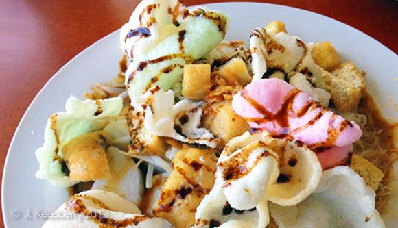 Groentesalade met pindasaus… welke?