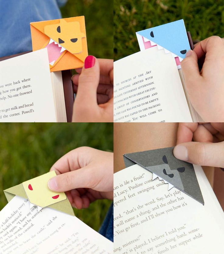 Animal Bookmark Corners                                                                                                                                                                                 More