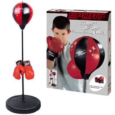 Liberty Imports Sport Boxing Punching Bag With Gloves Punching Ball for Kids 43 *** Visit the image link more details.