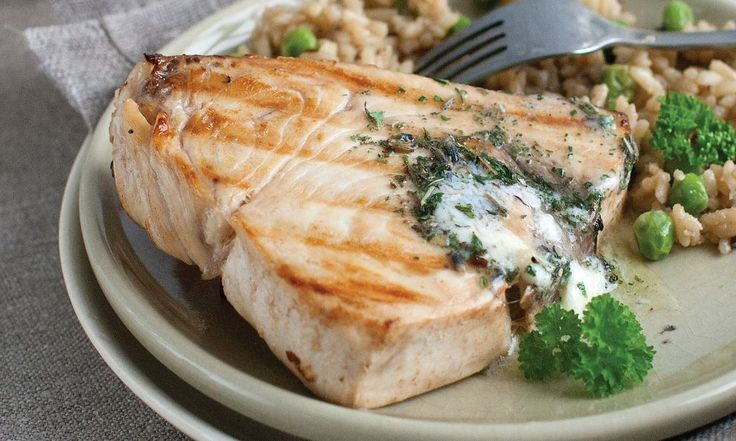 Swordfish Steaks  Shop now: http://www.omahasteaks.com/product/Swordfish-Steaks-00000004907?SRC=RZ0637  You can't compare the ocean-fresh flavor of an Omaha Steaks Swordfish Steak. Firm texture and a full flavor make our thick and tasty swordfish steaks a real gourmet treat. Try them on the grill or in the broiler.