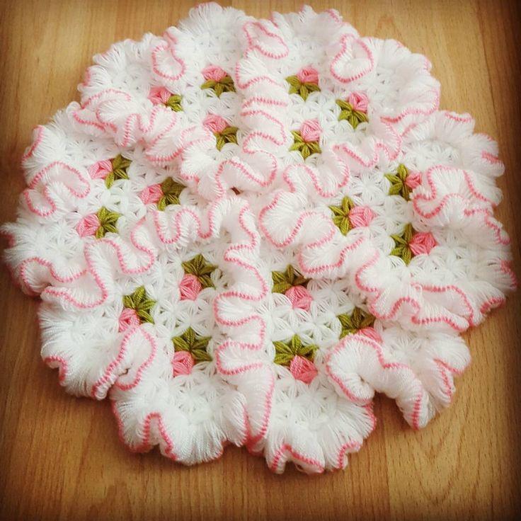 Çeyizlik Marul Lif #knitting #lif #elisi #örgü #hobiler #çeyiz #ceyiz #orgu