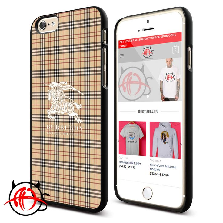 Burberry Pattern Phone Cases Trend  Price : $13.50 Check out our brand new !!